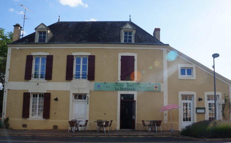 Ré-ouverture de notre restaurant, La Berriaude à Nohant-Vic